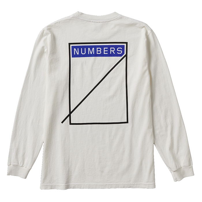 NUMBERS EDITION LOGOTYPE - L/S T-SHIRT 11504
