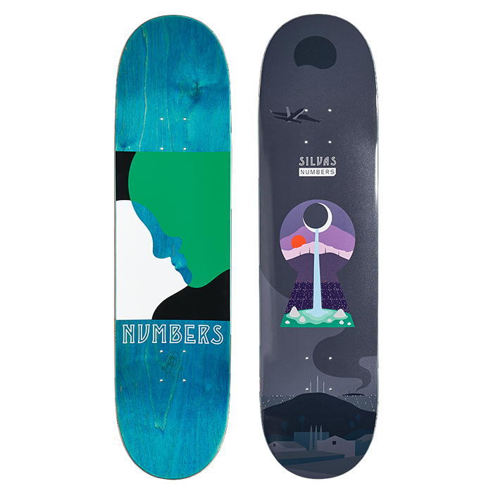 NUMBERS EDITION SILVAS DECK - EDITION 6 - 8.28 11902