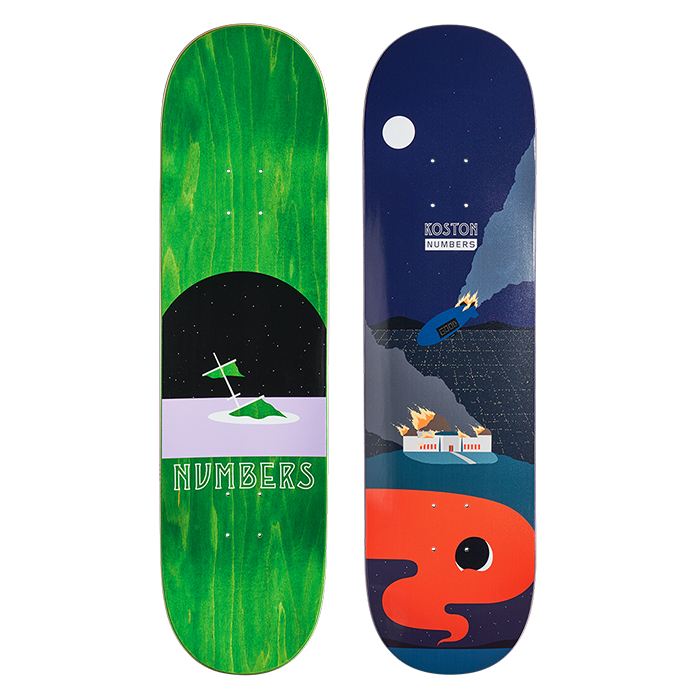 NUMBERS EDITION KOSTON DECK - EDITION 6 - 8.5 11904