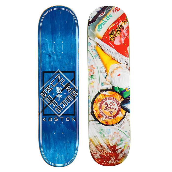 NUMBERS EDITION KOSTON DECK - EDITION 6 - 8.2 11907