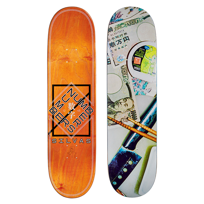 NUMBERS EDITION SILVAS DECK - EDITION 6 - 8.3 11908