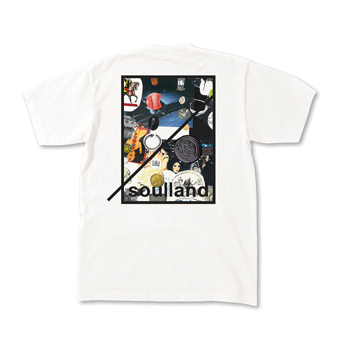 NUMBERS EDITION SOULLAND COLLAGE - S/S T-SHIRT 14604