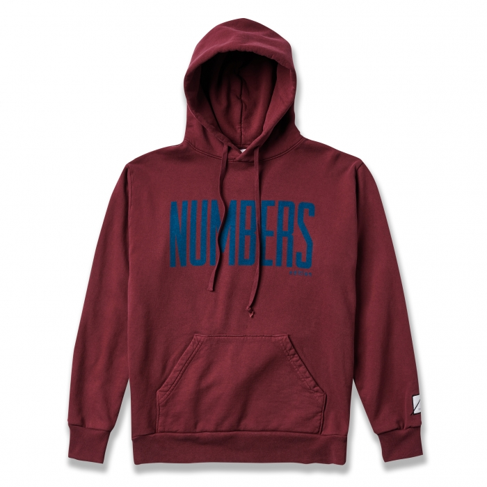 NUMBERS EDITION UPRIGHT - FLEECE HOODIE 17303