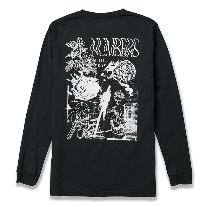 NUMBERS EDITION COLLAGE - L/S T-SHIRT 17502