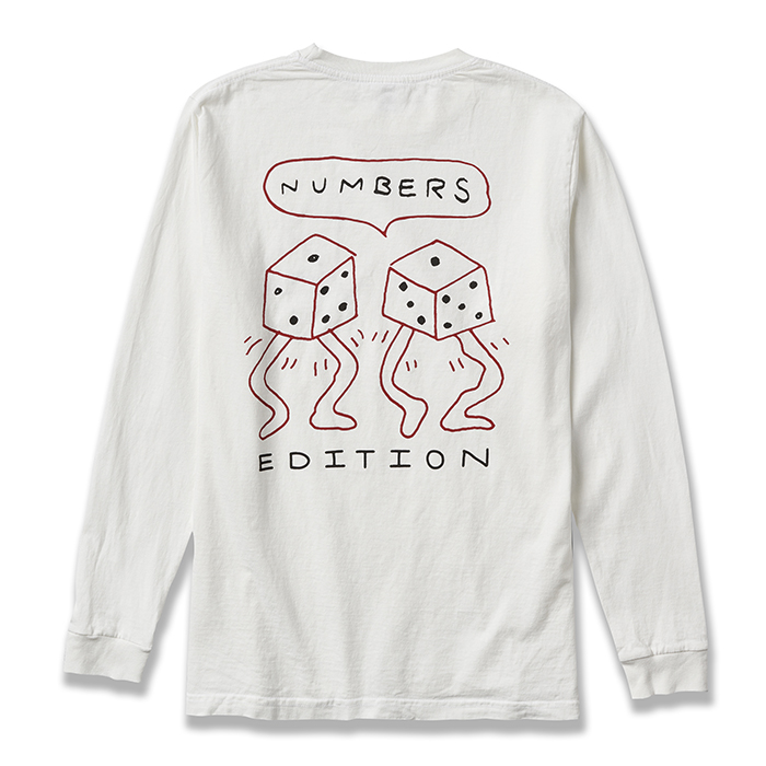 NUMBERS EDITION LOADED DICE - L/S T-SHIRT 17504