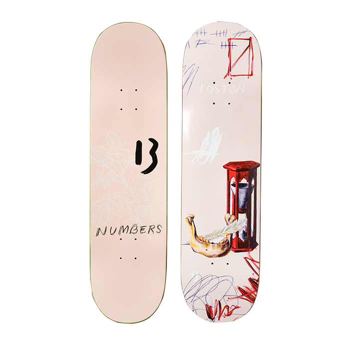 NUMBERS EDITION KOSTON DECK - EDITION 5 - 8.5 17904
