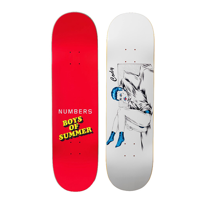 NUMBERS EDITION CODY SIMMONS 8.4 - BOYS OF SUMMER DECK 18901