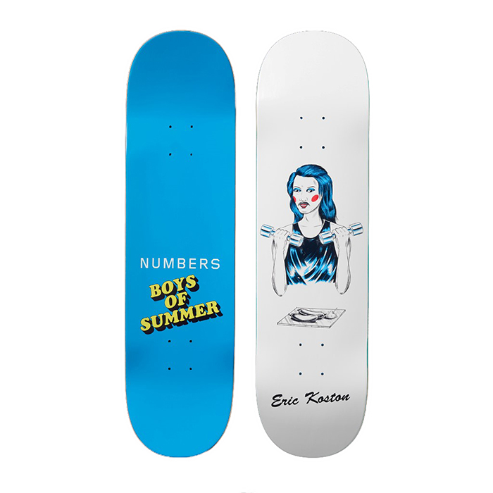NUMBERS EDITION ERIC KOSTON 8.5 - BOYS OF SUMMER DECK 18902