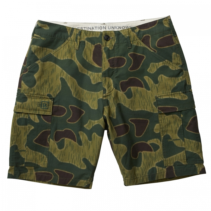 LIBERAIDERS 6 POCKET ARMY SHORTS 71801