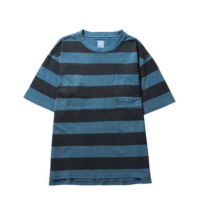 LIBERAIDERS OVERDYED STRIPED TEE 73610