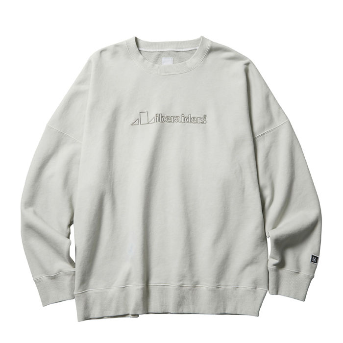 LIBERAIDERS TRIANGLE LOGO CREWNECK 74305