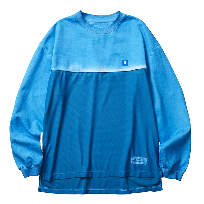 LIBERAIDERS OVERDYED MESH L/S TEE 75301