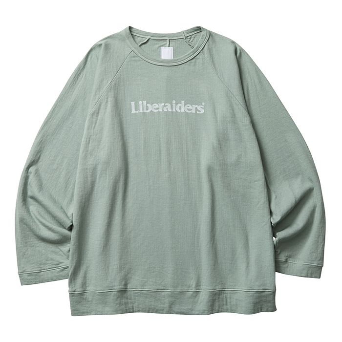 LIBERAIDERS 2LAYER CREWNECK 75305