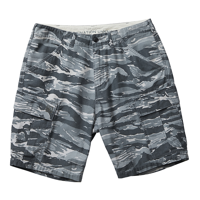 LIBERAIDERS 6 POCKET ARMY SHORTS 75802