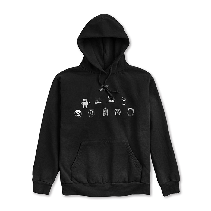 NUMBERS EDITION SOULLAND PYRAMID - FLEECE HOODIE 14304