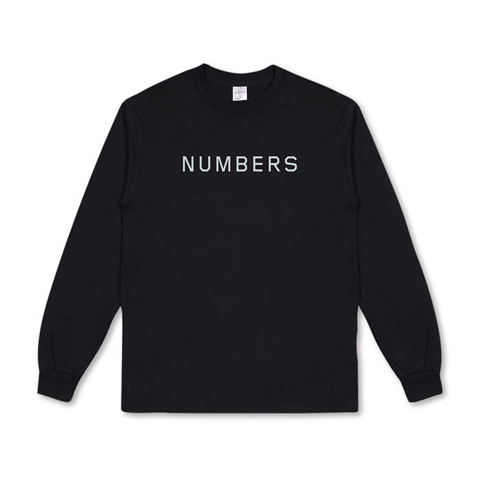 NUMBERS EDITION WORDMARK - L/S T-SHIRT  14501