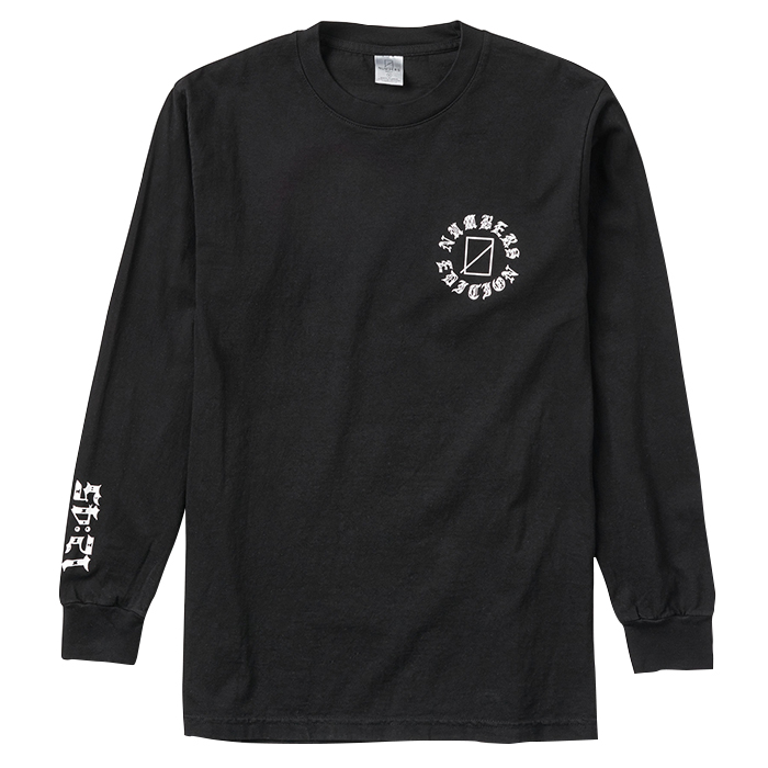 Numbers Edition AYALA SAD DAWG-L/S T-SHIRT 18502