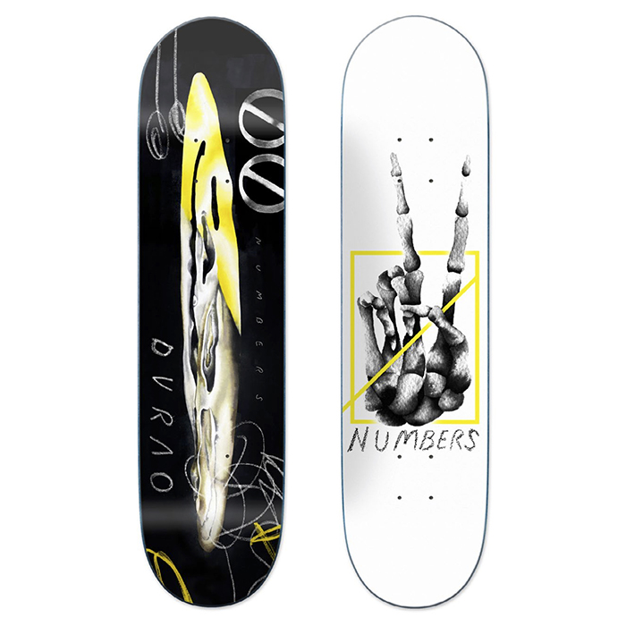 NUMBERS EDITION DURAO DECK - EDITION 5.5 - 8.3 [DEBUT PRO MODEL] 17901